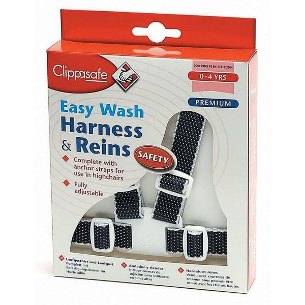 Clippasafe Harness Easy Wash Navy