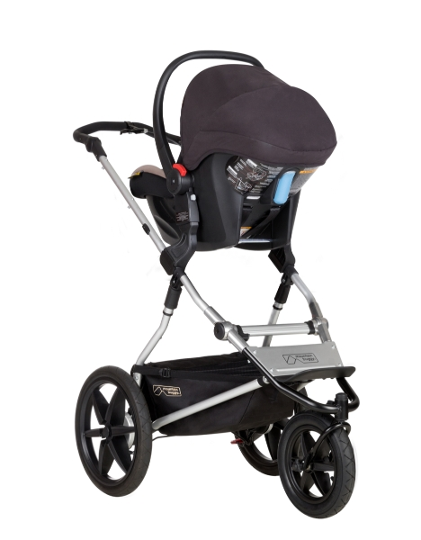Lightweight Travel System Pram Pushchair Buggy Carrycot With Maxi Cosi Car Seat Adaptors